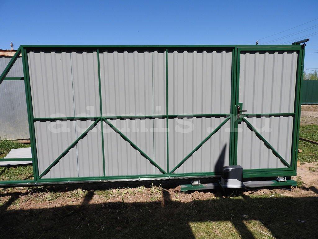 Автоматические ворота с дистанционным управлением для гаража